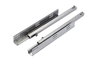 Soft-closing Concealed Auto-return undermount overtravel drawer slides