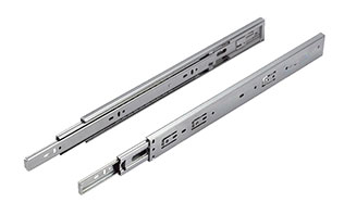 Soft-closing Ball Bearing undermount soft close drawer slides runners homebase