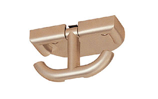 Furniture fittings Zinc alloy Mudroom hooks coat pegs